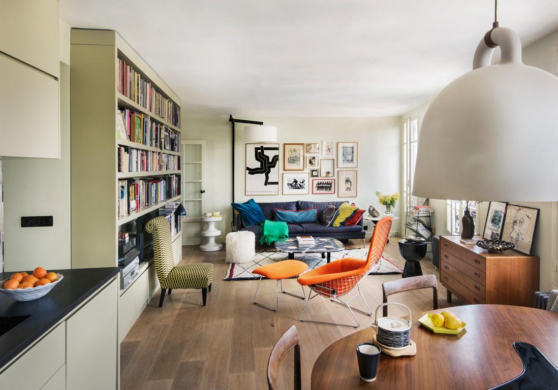 Un appartement perch sur les hauteurs de montmartre for Appartement design var