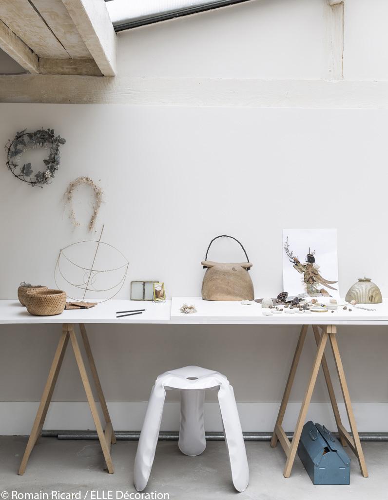 un loft d cor dans un esprit chalet parfait pour l 39 hiver elle d coration. Black Bedroom Furniture Sets. Home Design Ideas