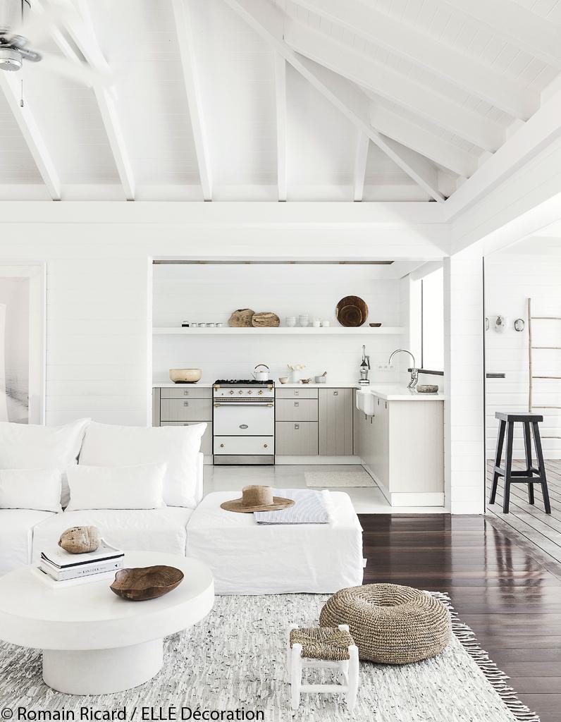 une villa de r ve saint barth elle d coration. Black Bedroom Furniture Sets. Home Design Ideas