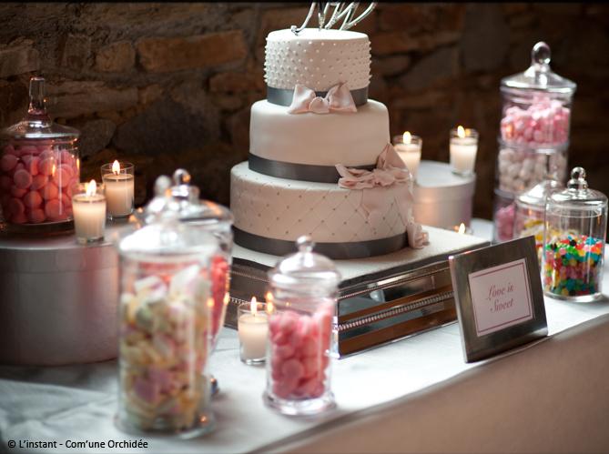 Des id es d co pour votre buffet de mariage elle d coration - Idee de deco pour mariage ...