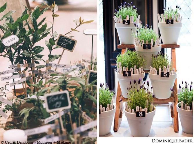 Mariage je veux un plan de table original elle d coration - Fabriquer des pots de fleurs originaux ...
