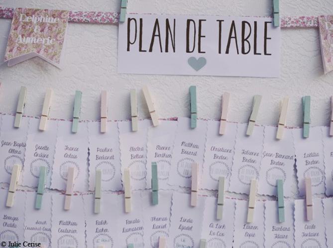 mariage je veux un plan de table original elle d coration. Black Bedroom Furniture Sets. Home Design Ideas