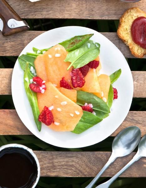 recette minceur soir salade melon framboises l oseille que manger le soir pour garder la. Black Bedroom Furniture Sets. Home Design Ideas