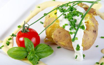 Pomme de terre au four light pour 4 personnes recettes - Pomme de terre paillasson au four ...