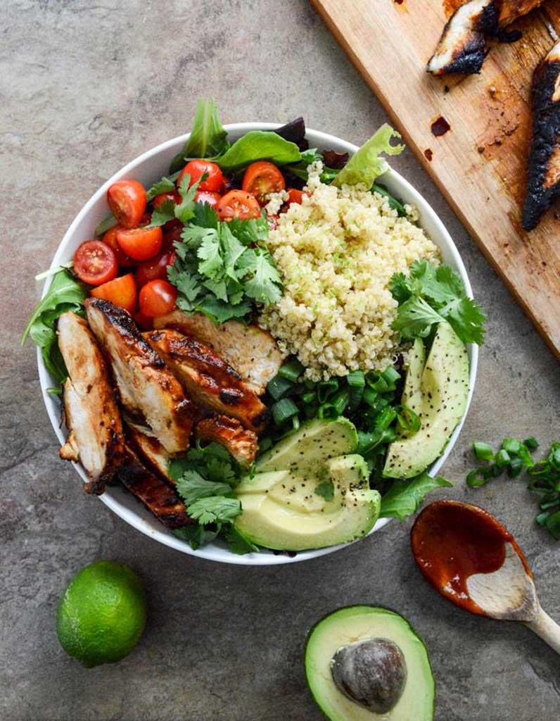 salade healthy salade compl te 11 salades l g res et color es pour tre en forme tout l t. Black Bedroom Furniture Sets. Home Design Ideas