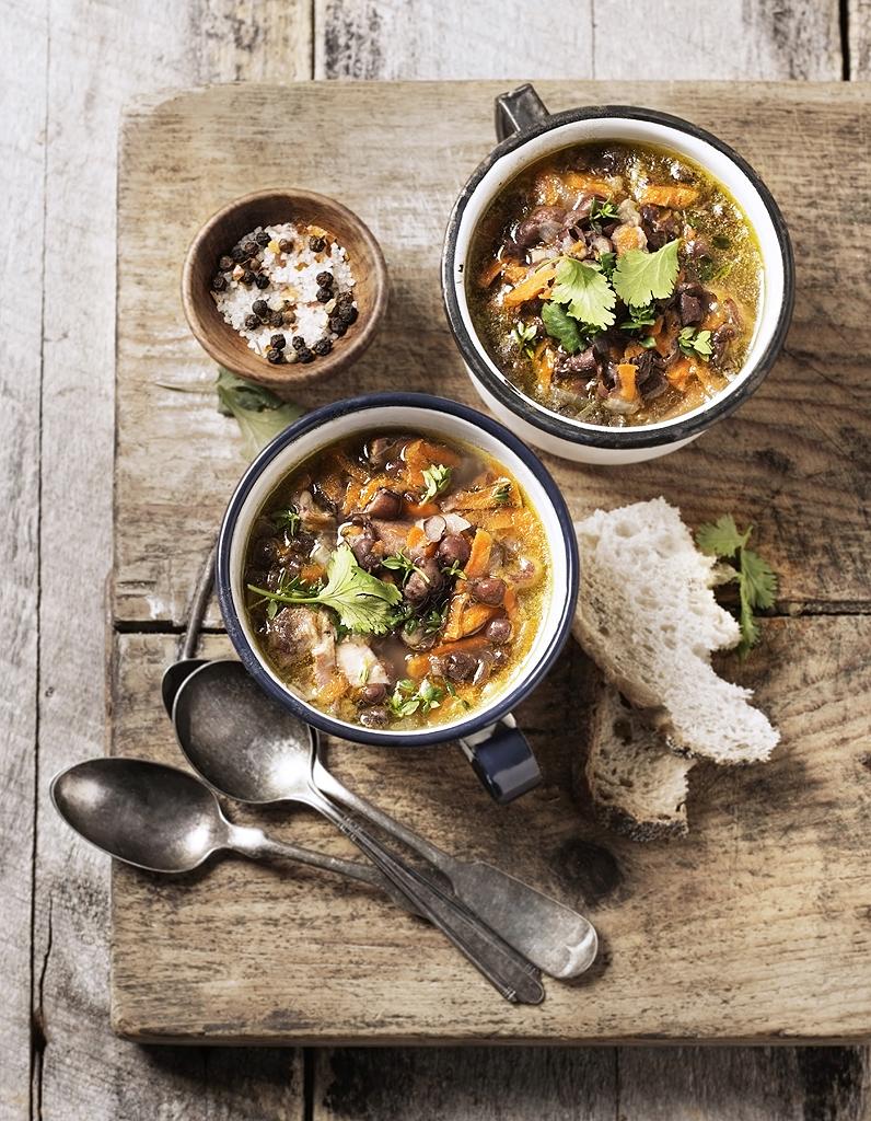 soupe de légumes : 55 soupes de légumes d'hiver - elle à table