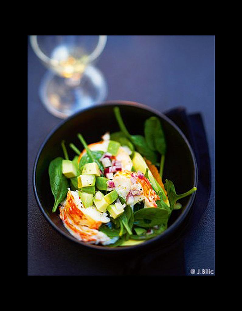 salade de langouste ti de 50 id es de salades qui changent elle table. Black Bedroom Furniture Sets. Home Design Ideas