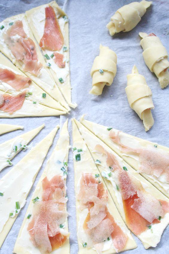 croissants sal s roquefort jambon de bayonne poire 7 recettes de croissants sal s tomber. Black Bedroom Furniture Sets. Home Design Ideas