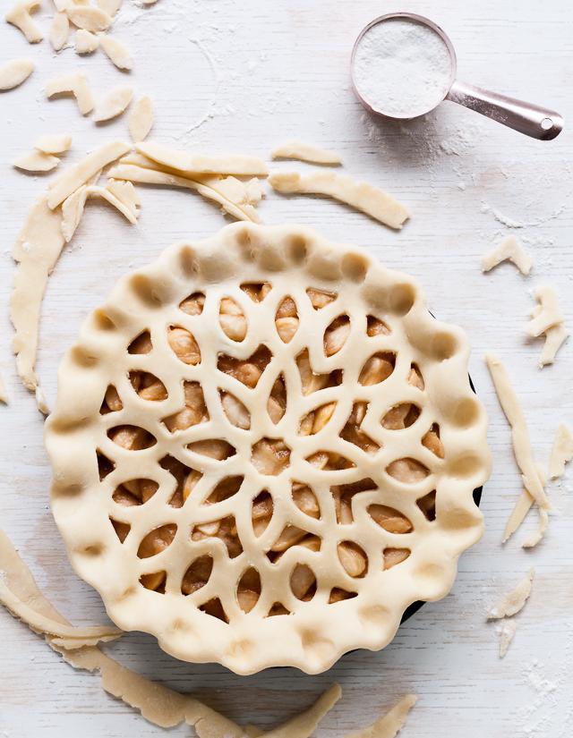 D coration de tarte d couvrez comment d corer une tarte - Comment couper des pommes pour une tarte ...