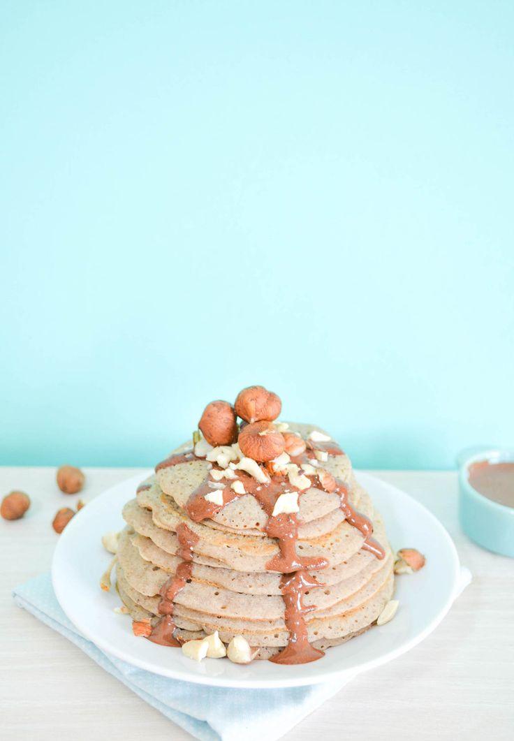 pancakes healthy vegan de bonnes id es de pancakes healthy pour le petit d jeuner elle table. Black Bedroom Furniture Sets. Home Design Ideas
