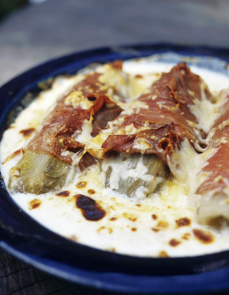 Poireaux gratin s que faire avec du jambon blanc - Cuisiner du jambon blanc ...