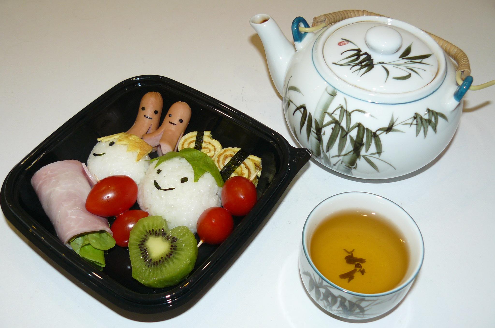 Bento japonais pour 1 personne recettes elle table - Recette riz japonais ...