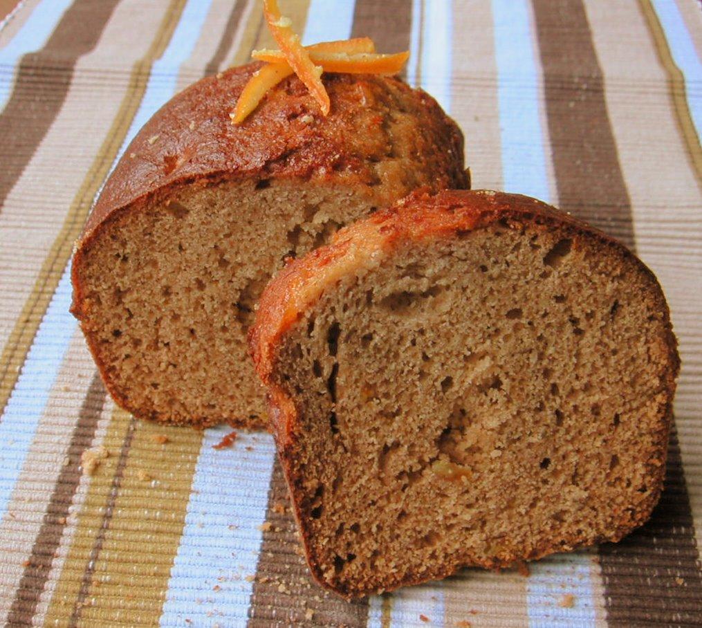 pain d 39 pices aux corces d 39 oranges confites pour 6 personnes recettes elle table. Black Bedroom Furniture Sets. Home Design Ideas