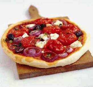 Pizza maison pour 4 personnes recettes elle table - Pizza maison idee ...