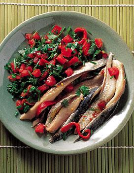anchois frais marin s pour 4 personnes recettes elle table. Black Bedroom Furniture Sets. Home Design Ideas