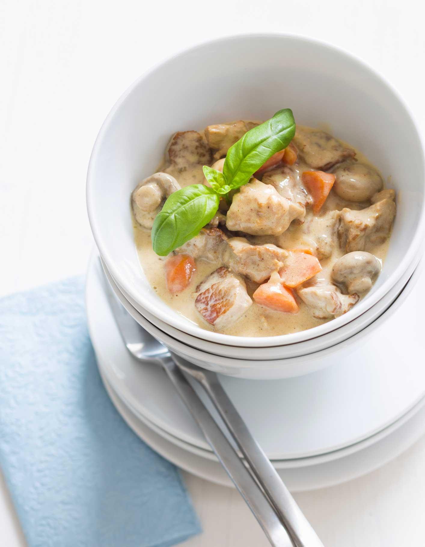Blanquette de veau thermomix pour 4 personnes recettes - Cuisine blanquette de veau ...