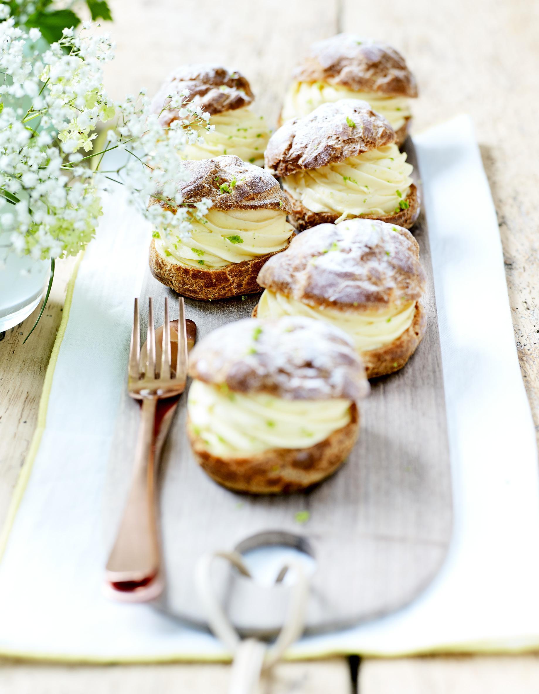 Choux cr me et citron vert pour 4 personnes recettes - Fr3 fr recettes de cuisine ...