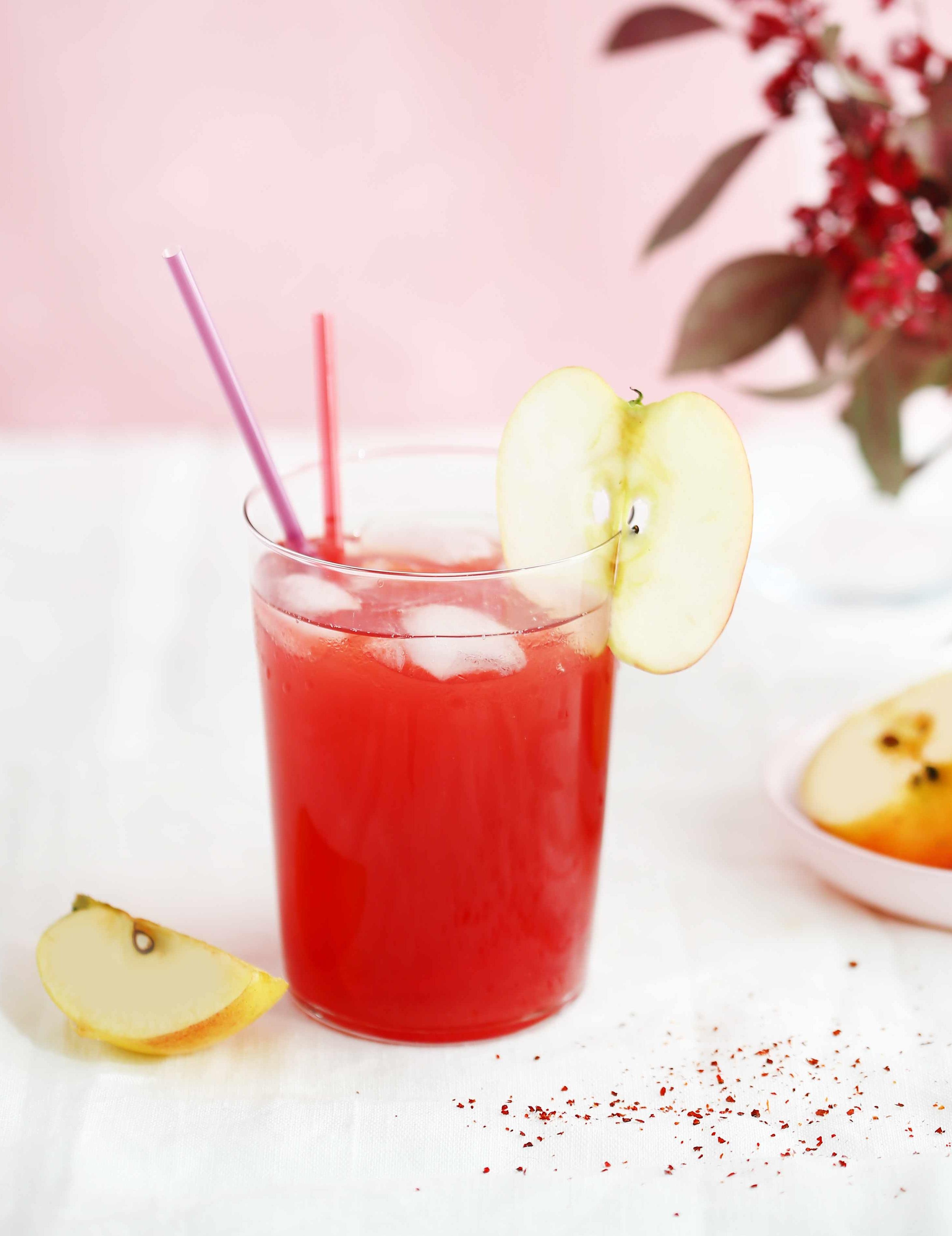 Cocktail spicy apple au calvados pour 1 personne for Cocktail 9 mac