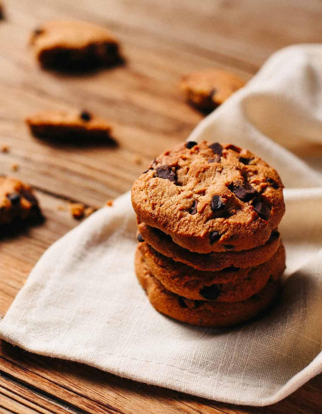 Cookies thermomix pour 8 personnes recettes elle table - Cuisine minceur thermomix ...