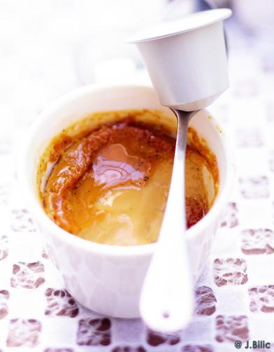 Cr me au caf onirio de nespresso pour 6 personnes - C est au programme recettes de cuisine ...
