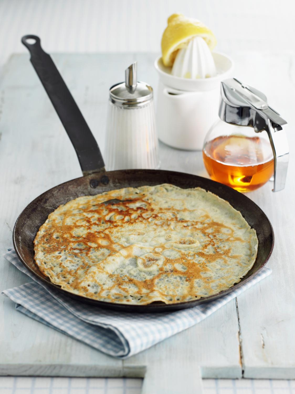 Cr pes sans oeuf pour 4 personnes recettes elle table - Cuisine sans four etudiant ...
