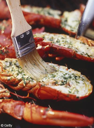 Homard au gril citron vert et piment pour 4 personnes - Comment cuisiner le homard ...