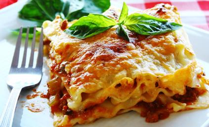Lasagnes faciles pour 6 personnes recettes elle table - Lasagne facile et rapide ...