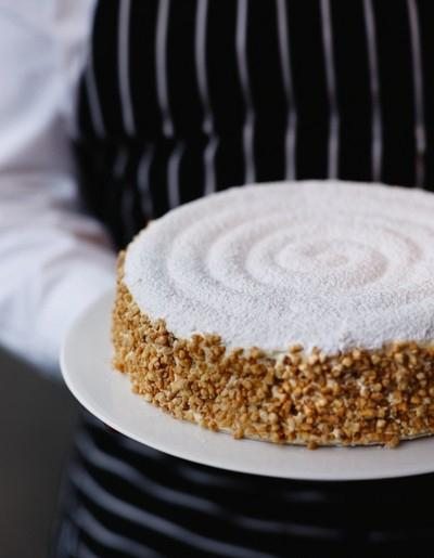 Le succ s aux amandes de gaston len tre pour 8 personnes - Vieilles recettes de cuisine de grand mere ...