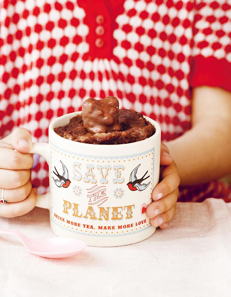 Mug Cake Chocolat Banane Healthy