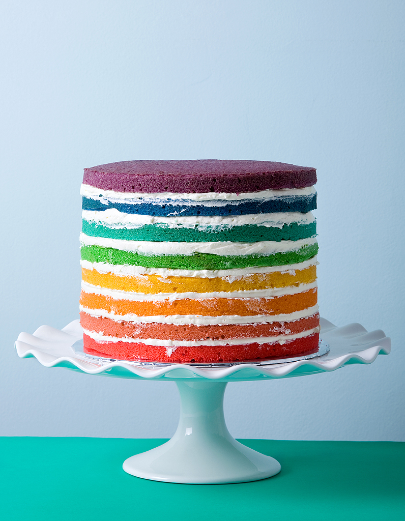 Recette Rainbow Cake Thermomix