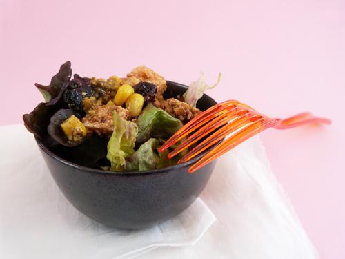 Salade compos e v g tarienne pour 4 personnes recettes elle table - Recette cuisine vegetarienne ...