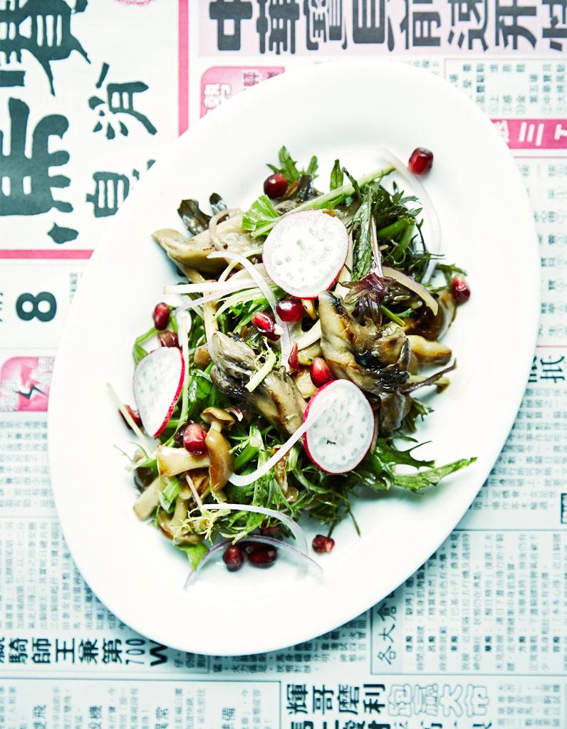 Salade de champignons la grenade pour 4 personnes - Salade de champignons frais ...