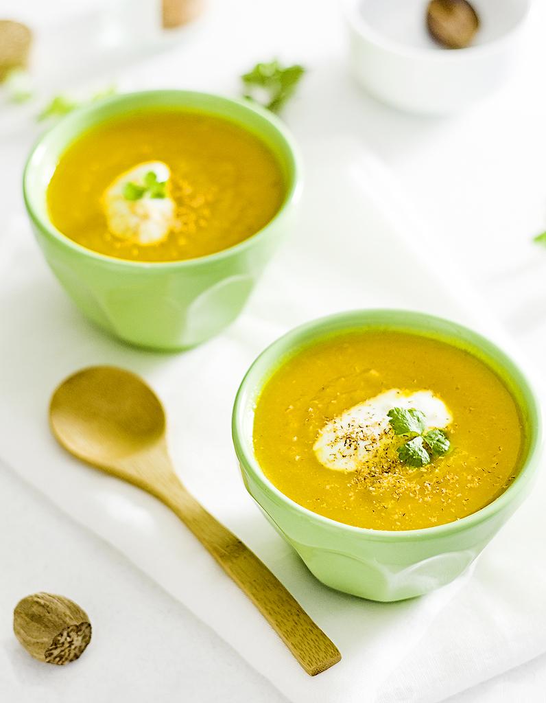 Soupe de carottes à la marocaine THERMOMIX pour 4
