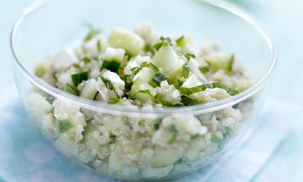 Taboul de quinoa concombre de france menthe et feta pour - France 3 fr midi en france recettes de cuisine ...