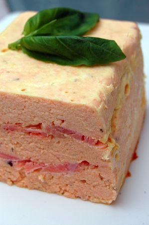 Cake Poisson Au Deux Saumons