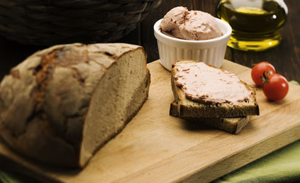 terrine de foie gras de canard pour 8 personnes recettes elle table. Black Bedroom Furniture Sets. Home Design Ideas