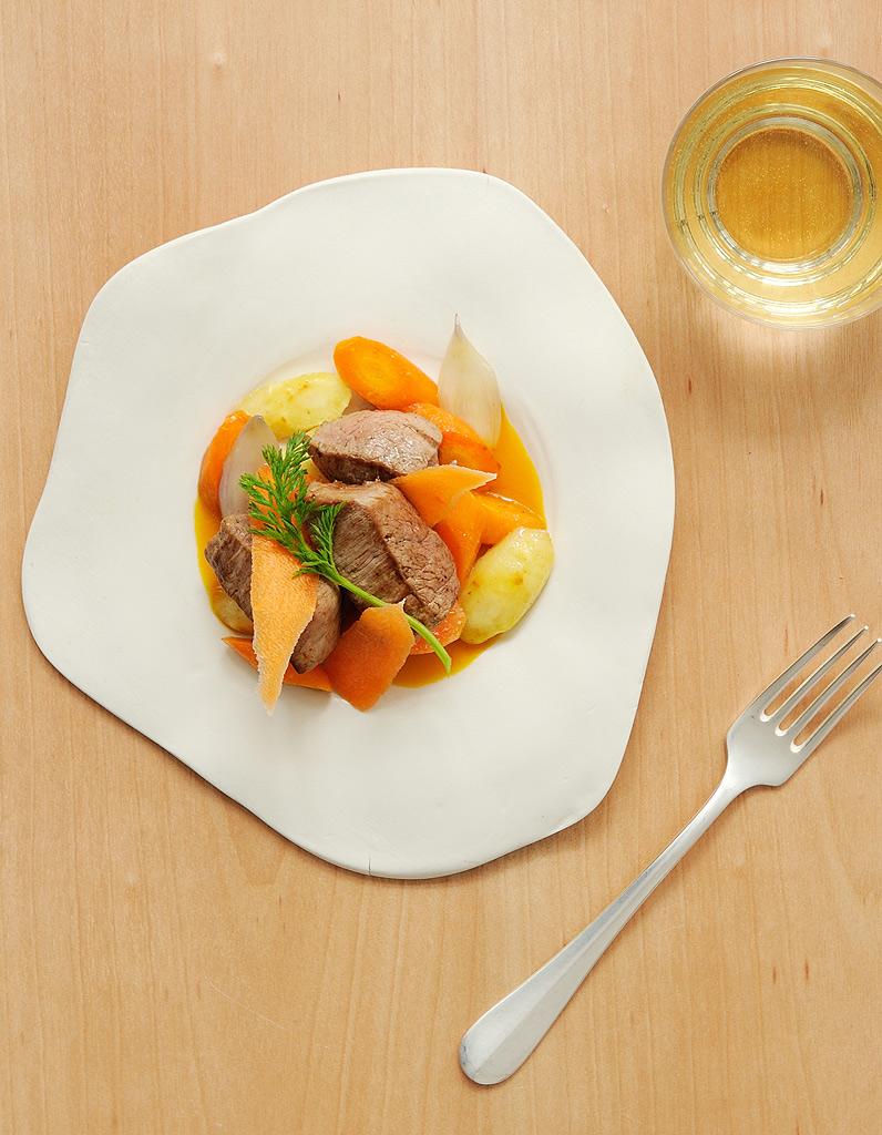 Veau carottes r ties jus aux pices pour 4 personnes for Epices de cuisine