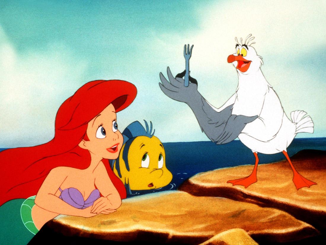 Ariel dans la petite sir ne 10 stars qui ont inspir les h ros disney elle - Image petite sirene ...