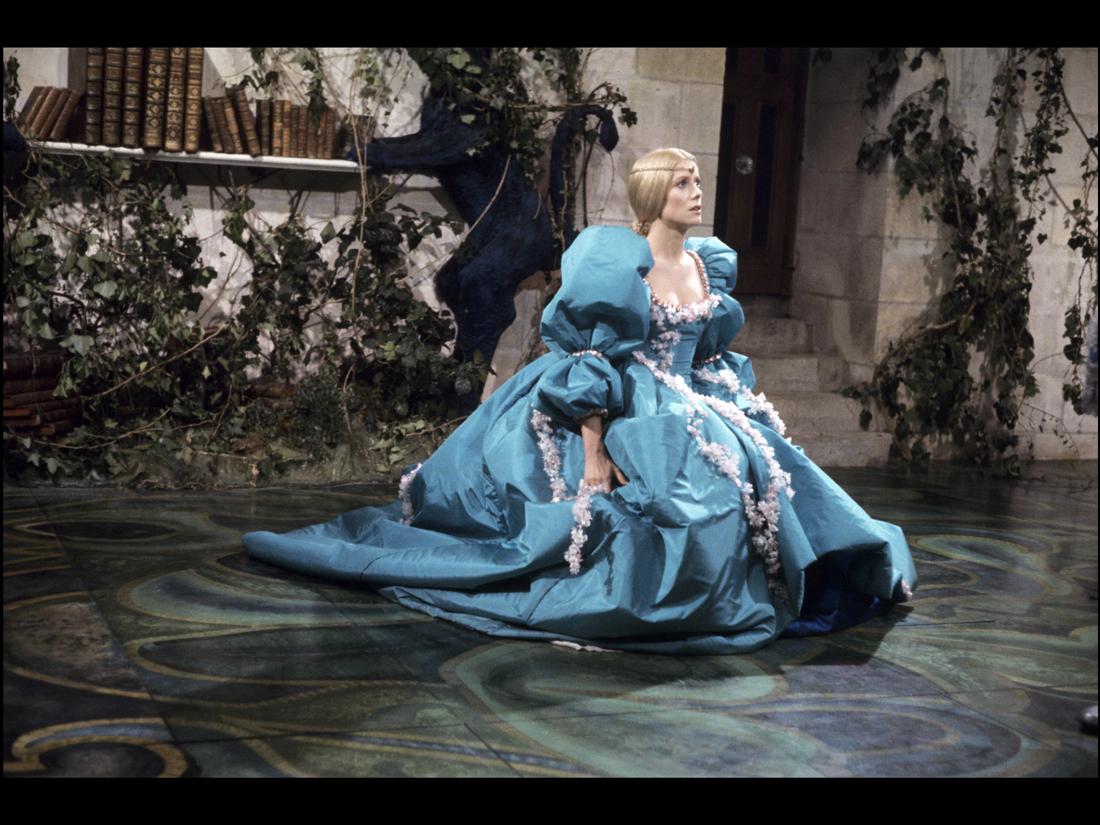une autre des sublimes robes de peau d ne les plus beaux costumes des films de jacques. Black Bedroom Furniture Sets. Home Design Ideas