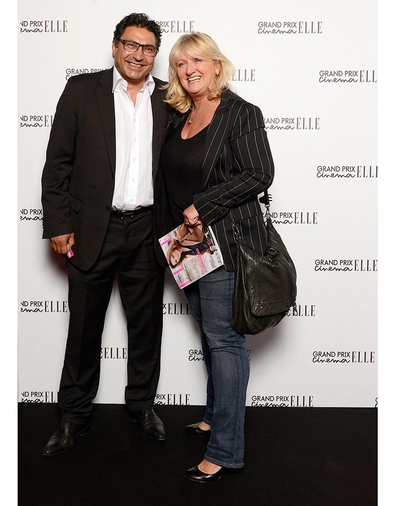 Zaman hachemi et charlotte de turckheim grand prix cin ma elle 2013 la soir e en images elle - Charlotte de turckheim et son mari ...
