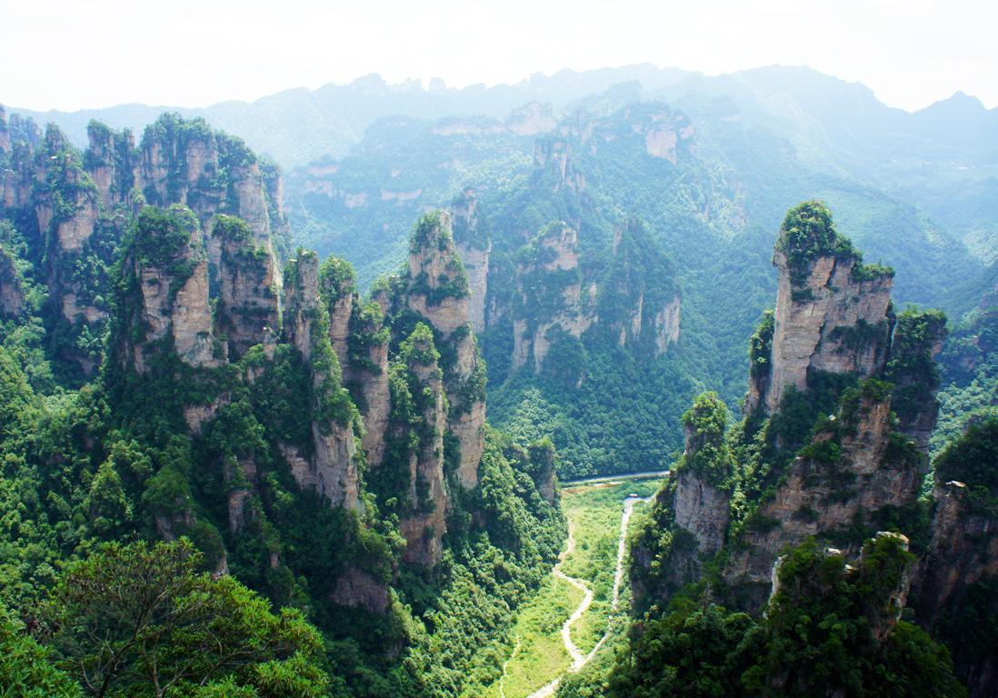 Assez Le parc de Zhangjiajie, en Chine - Et si on visitait les lieux de  IA92