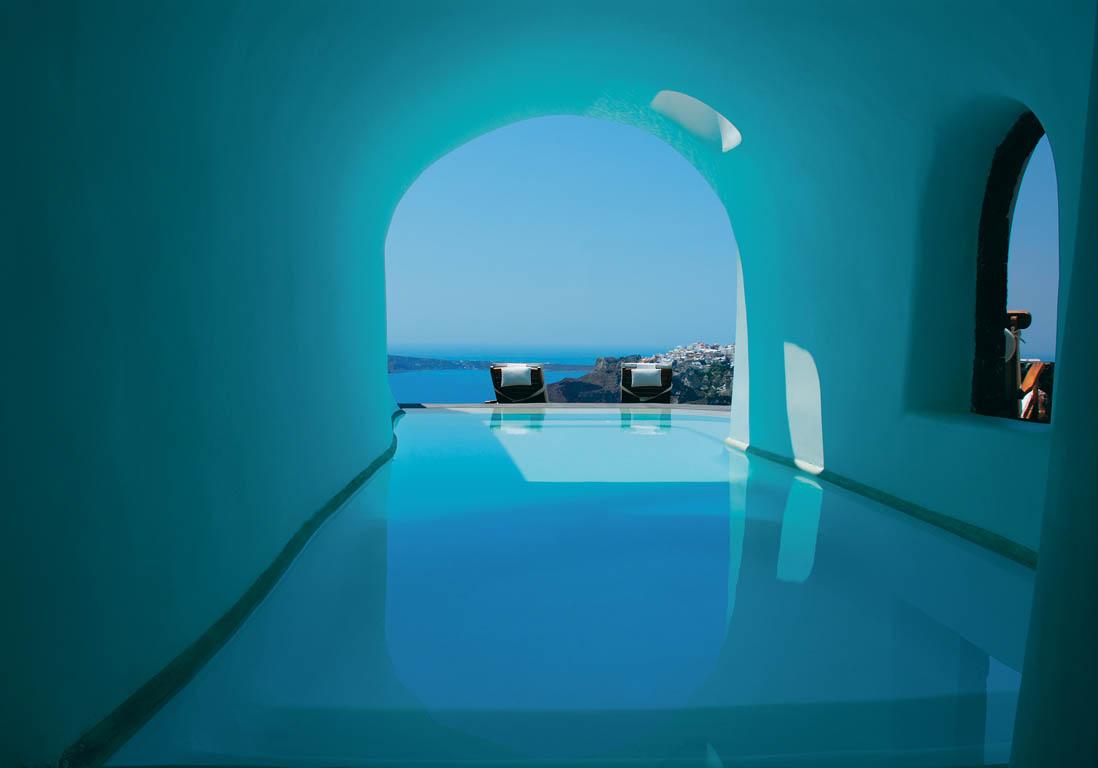 Perivolas oia gr ce piscine priv e les plus beaux for Hotel santorin piscine privee