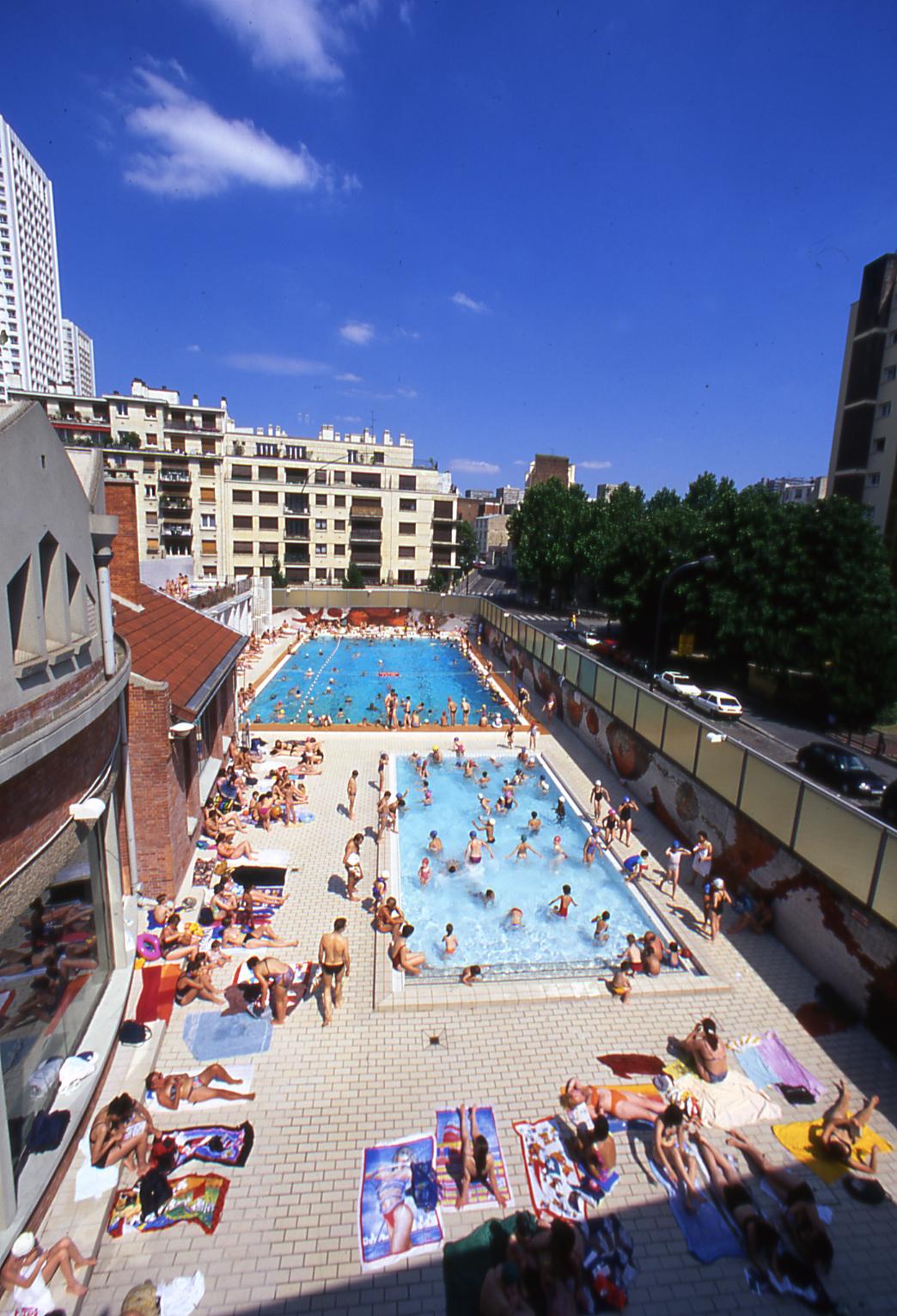 Plonger dans une piscine ciel ouvert vacances paris for Apprendre a plonger dans une piscine