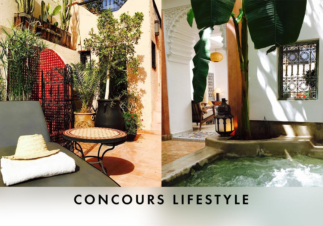 votre s jour au riad tawargit de marrakech elle. Black Bedroom Furniture Sets. Home Design Ideas