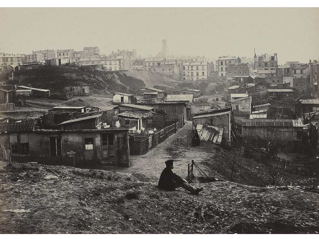 La rue champlain dans le 20e arrondissement 1877 1878 for Quoi visiter dans le 78