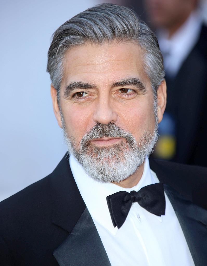 Bien-aimé George Clooney - Barbe ou moustache : comment les préférez-vous  IC52