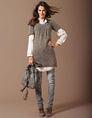 la robe pull enceinte on porte les must have de l hiver. Black Bedroom Furniture Sets. Home Design Ideas