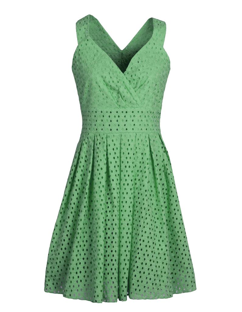 Robe verte sinequanone 100 cadeaux pour lui faire for Robe vert aqua pour mariage