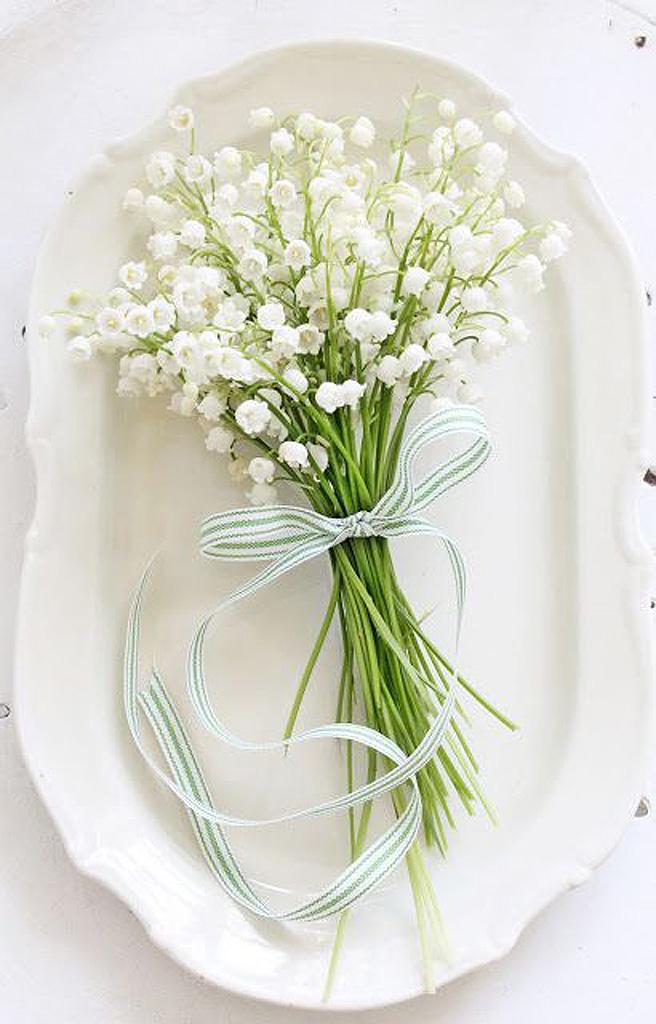 bouquet de fleurs blanches muguet 25 bouquets de fleurs blanches pour toutes les occasions elle. Black Bedroom Furniture Sets. Home Design Ideas
