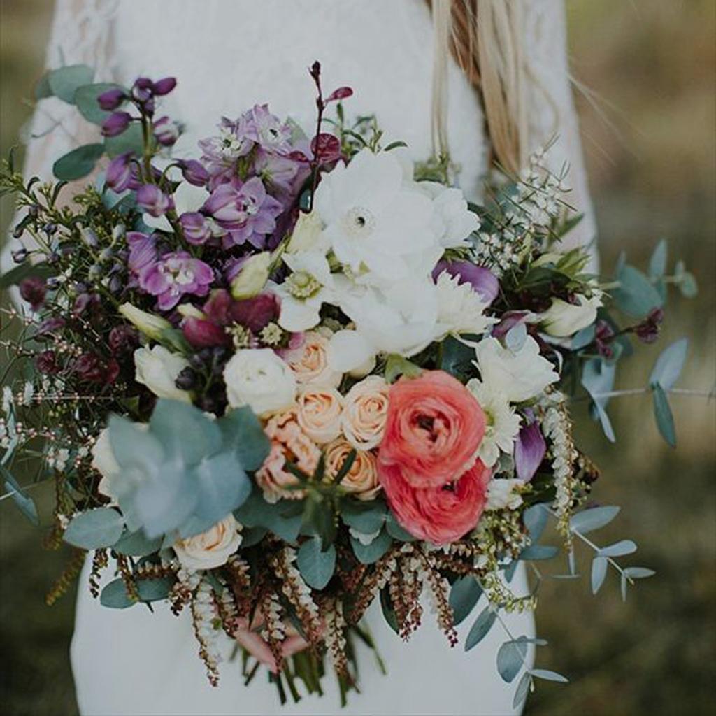 Bouquet de mari e 20 beaux bouquets de mari e pour gayer votre robe blanche elle - Strass pour bouquet de mariee ...